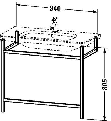 duravit durastyle meubles accessoire pour meuble porte serviettes ds9893 by duravit. Black Bedroom Furniture Sets. Home Design Ideas