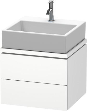 L Cube Meuble Sous Lavabo Pour Plan De Toilette Lc6820 Duravit