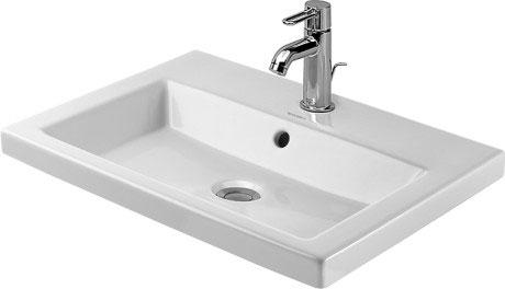 2nd floor Vasque à encastrer #034760 | Duravit