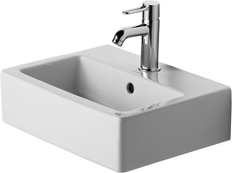 vero lave mains lave mains pour meuble 070445 duravit. Black Bedroom Furniture Sets. Home Design Ideas
