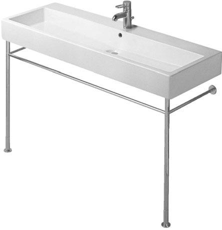 Duravit vero lavabos wc baignoires duravit for Baignoire metallique