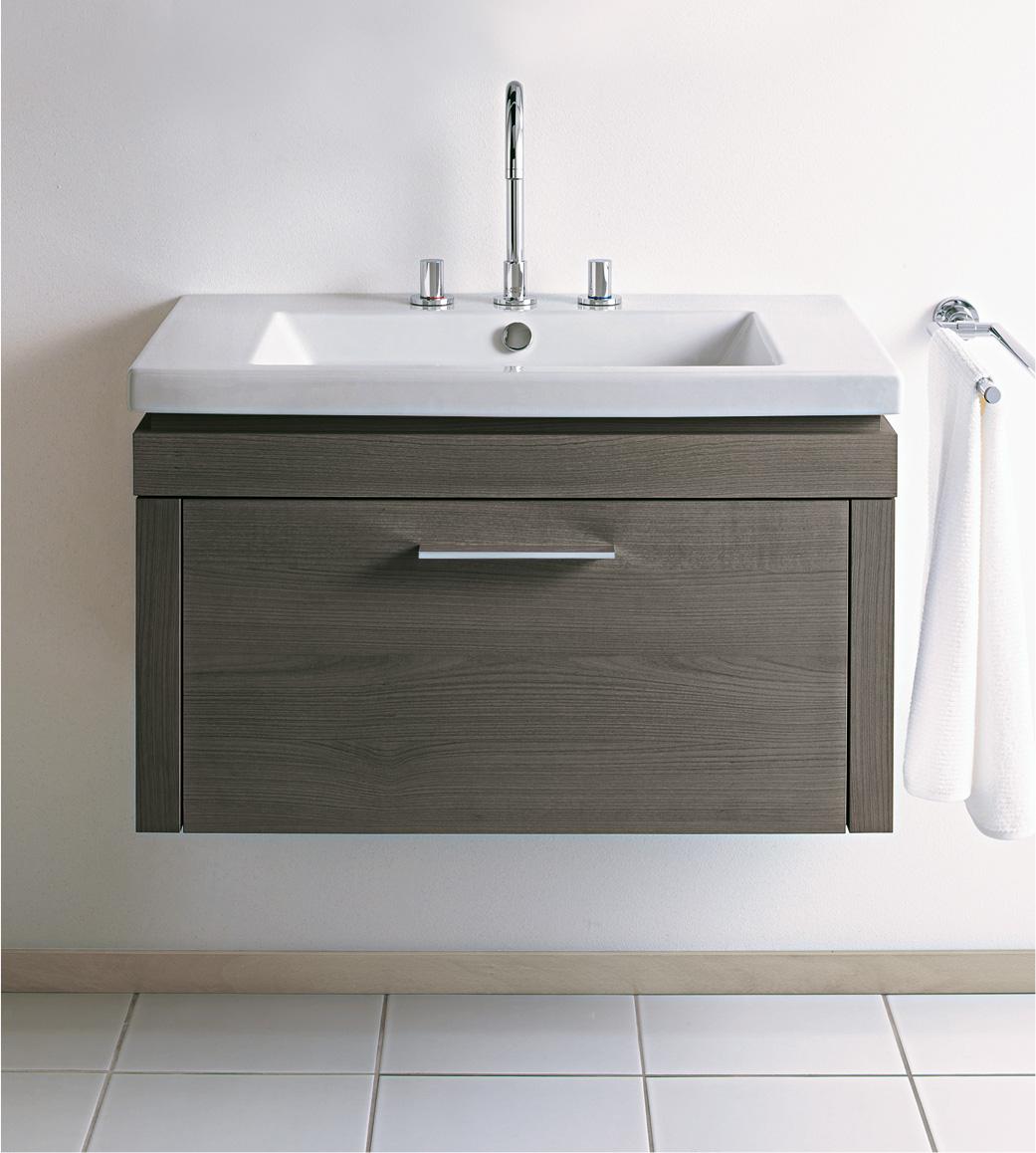 Lavabos pour meuble pour votre salle de bains duravit for Meubles pour lavabo