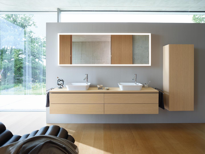 duravit l cube meubles de salles de bains l 39 l gance intemporelle duravit. Black Bedroom Furniture Sets. Home Design Ideas