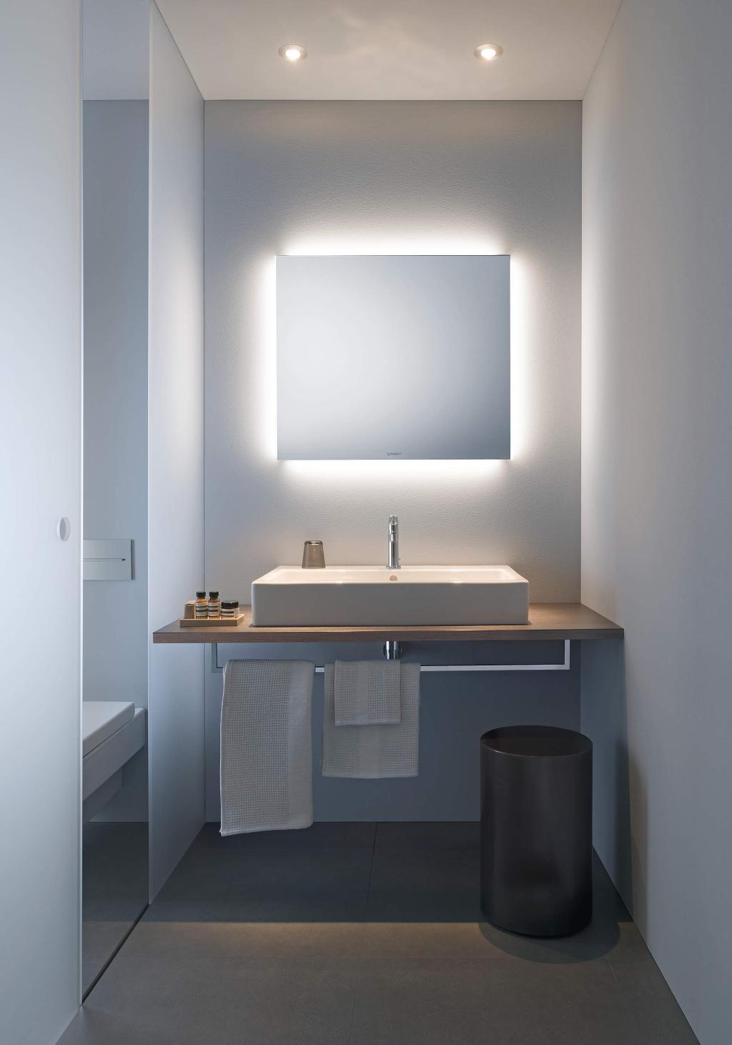 Plafond Salle De Bain Placo Hydrofuge ~ Eclairage Et Miroir Duravit